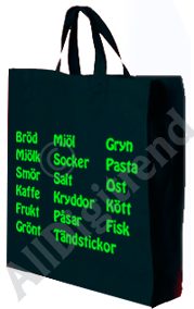 REJÄL Canvas shoppingbag 410gr!