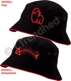 Snygg hatt med design motiv