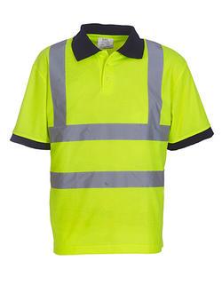Hi vis Arbete Polo Piké shirt Class 2