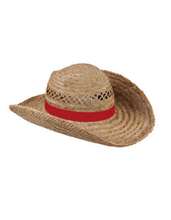 Stråhatt m/valfritt hattband