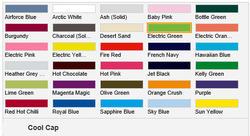 Cool keps i 30 coola färger