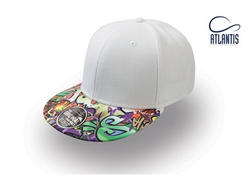 Peak SKULL, GRAFFITTI, FLOWER cap
