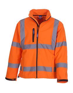 High visible Softshell Jacket