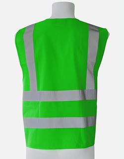 Safety Vest four Reflectors EN ISO