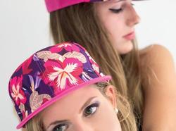 FASHION! SKULL, GRAFFITTI, FLOWER cap