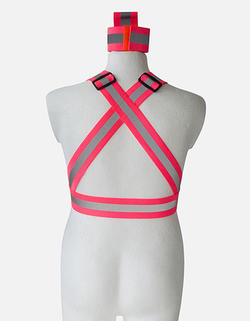 Kroppsbälte inkl 2 extra reflexband
