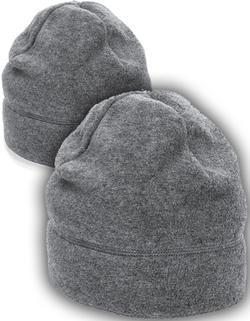 2-pack Fleecemössor Noppfri